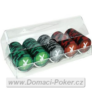 Playboy Poker set 100 žetonů