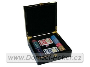 Poker set Valentino Poker Room 10gr. 100ks + kufřík